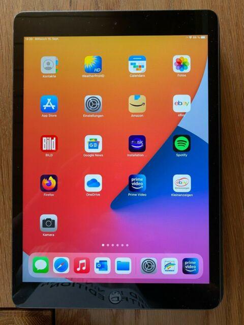 Apple iPad 8. Gen 128GB, Wi-Fi + 4G (Ohne Simlock), 10,2 Zoll - Space Grau