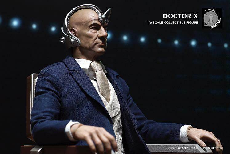 FigureMasters 1 6 Man Action Figure Doctor X Professor X Xavier Collection Model