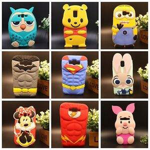 FOR-SAMSUNG-GALAXY-Cute-3D-Cartoon-US-Hero-Soft-Silicone-Rubber-Case-Cover-Skin