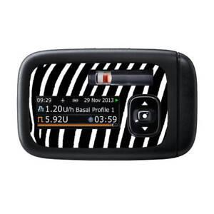 Details Zu Accu Chek Insight Sticker Zebra Diasticker