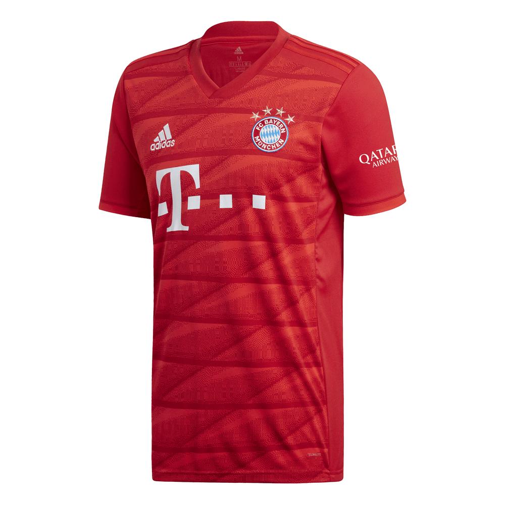 ADIDAS Bayern Monaco Home Jersey A Maniche Corte da Uomo 20192020