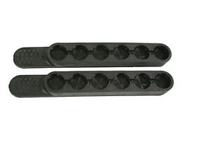 Tuff Products 38 357 40 Speed Quick Strip Revolver Loader - 6 rd 2 Pack - BLACK