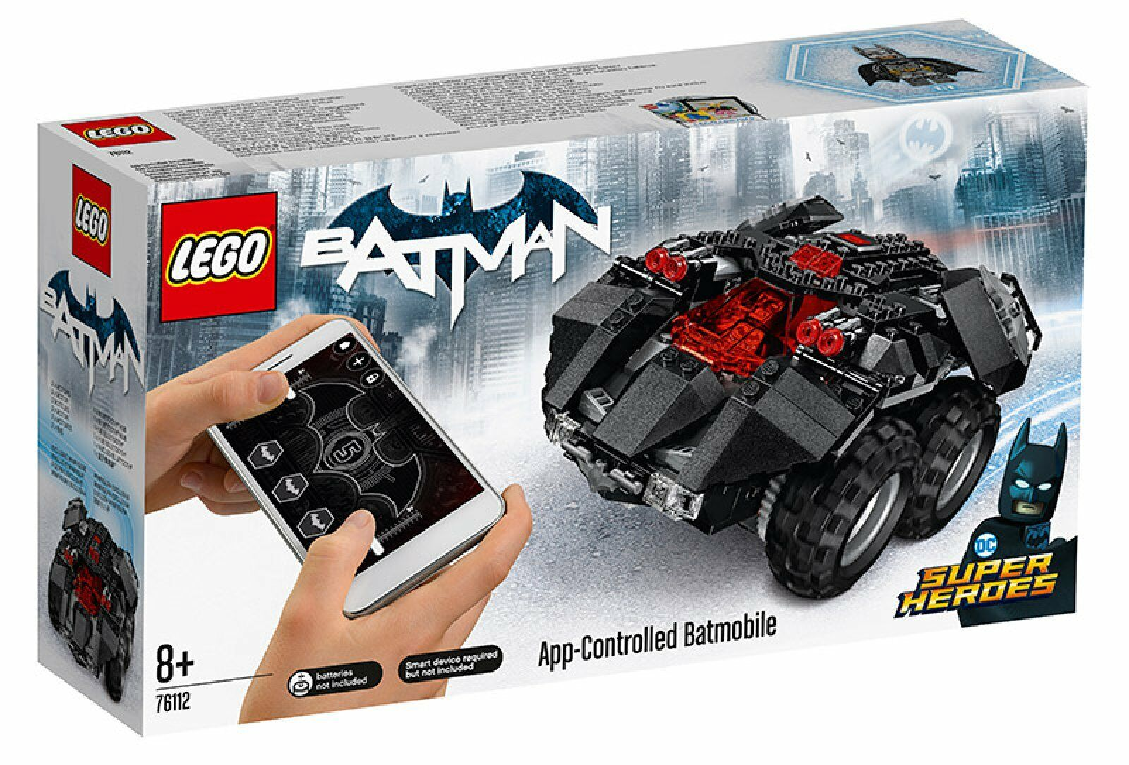 76112 LEGO DC Superh. Batmobile telecomandata