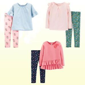 Carter-039-s-Baby-Toddler-Girls-039-2-Pc-Set-Tunic-Top-Legging-Jegging-Playwear-NWT