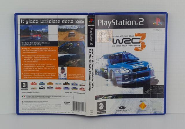 WRC 3 FIA WORLD RALLY CHAMPIONSHIP  PS2 - PlayStation 2 - PAL - Italiano - Usato