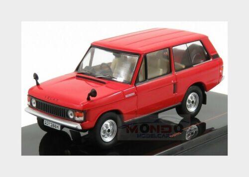 Land Rover Range Rover Velar Rhd 1969 Red IXO 1:43 CLC179