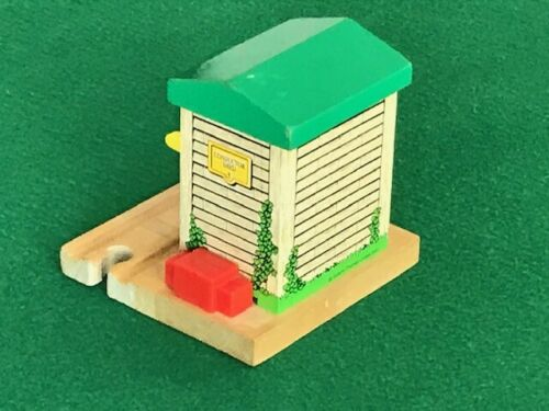 THOMAS /& FRIENDS WOODEN RAILWAY CONDUCTOR SHED STOP BARRIER for BRIO TRAIN SET