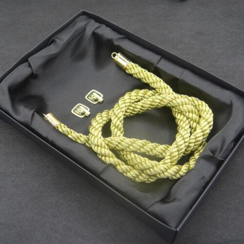 Vip Style Charm Junction Produce Fusa White Kiku JP Knot /& Gold Kin Tsuna Rope