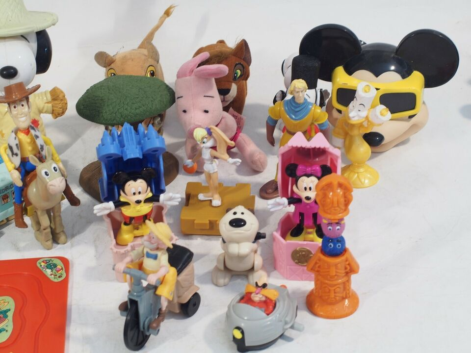 Figurer, McDonalds Happy meal legetøj, McDonalds / Disney