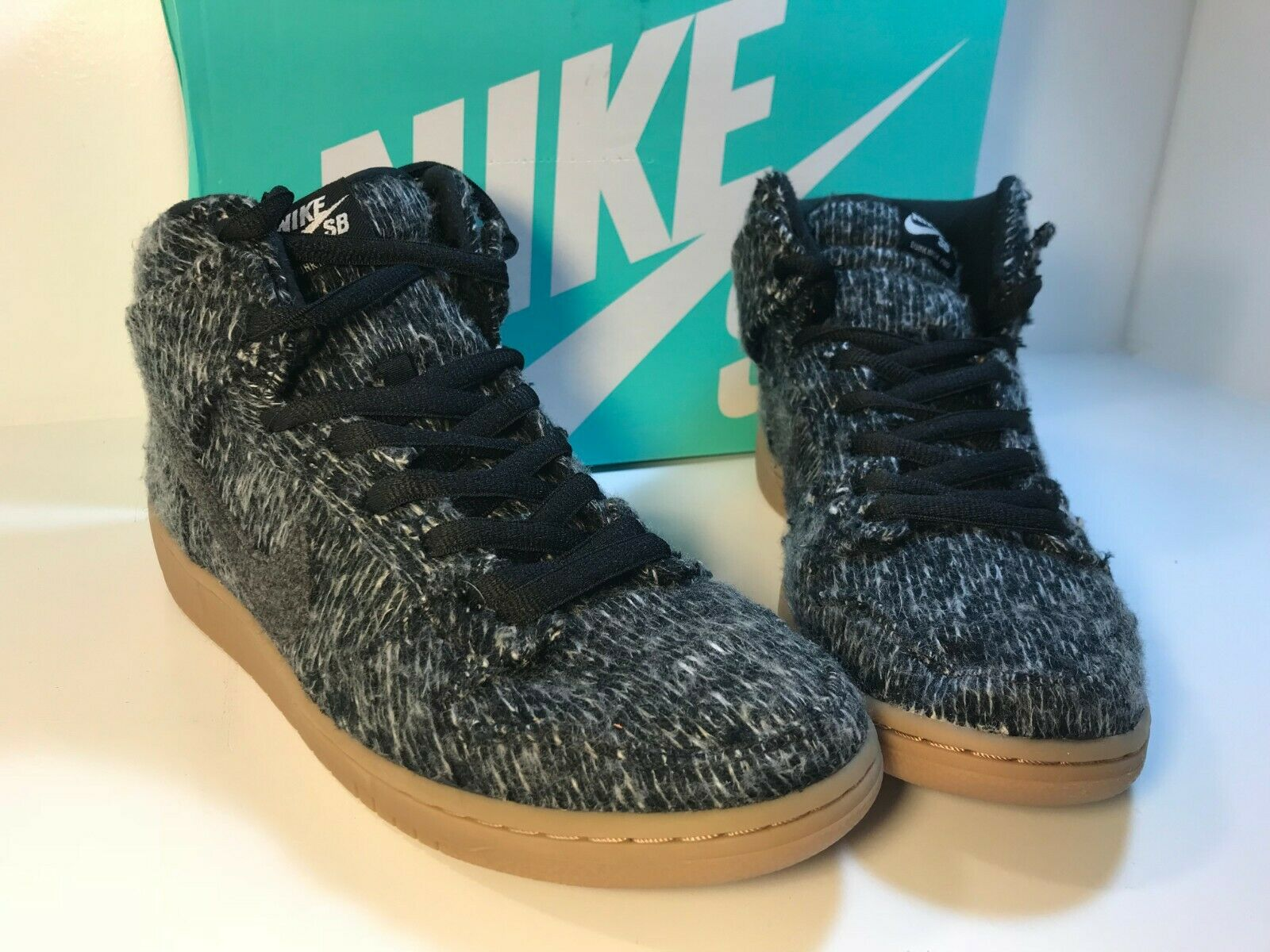 NIB Nike SB Dunk High Warmth Mens Size 10.5 DS 684807 002