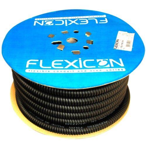 25mm flexi conduit 25 Meters Plastic Coated Steel