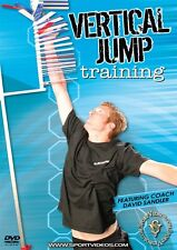 Vertical Jump Training DVD - Improve Your Jumping Leap Ability! - Free Shipping