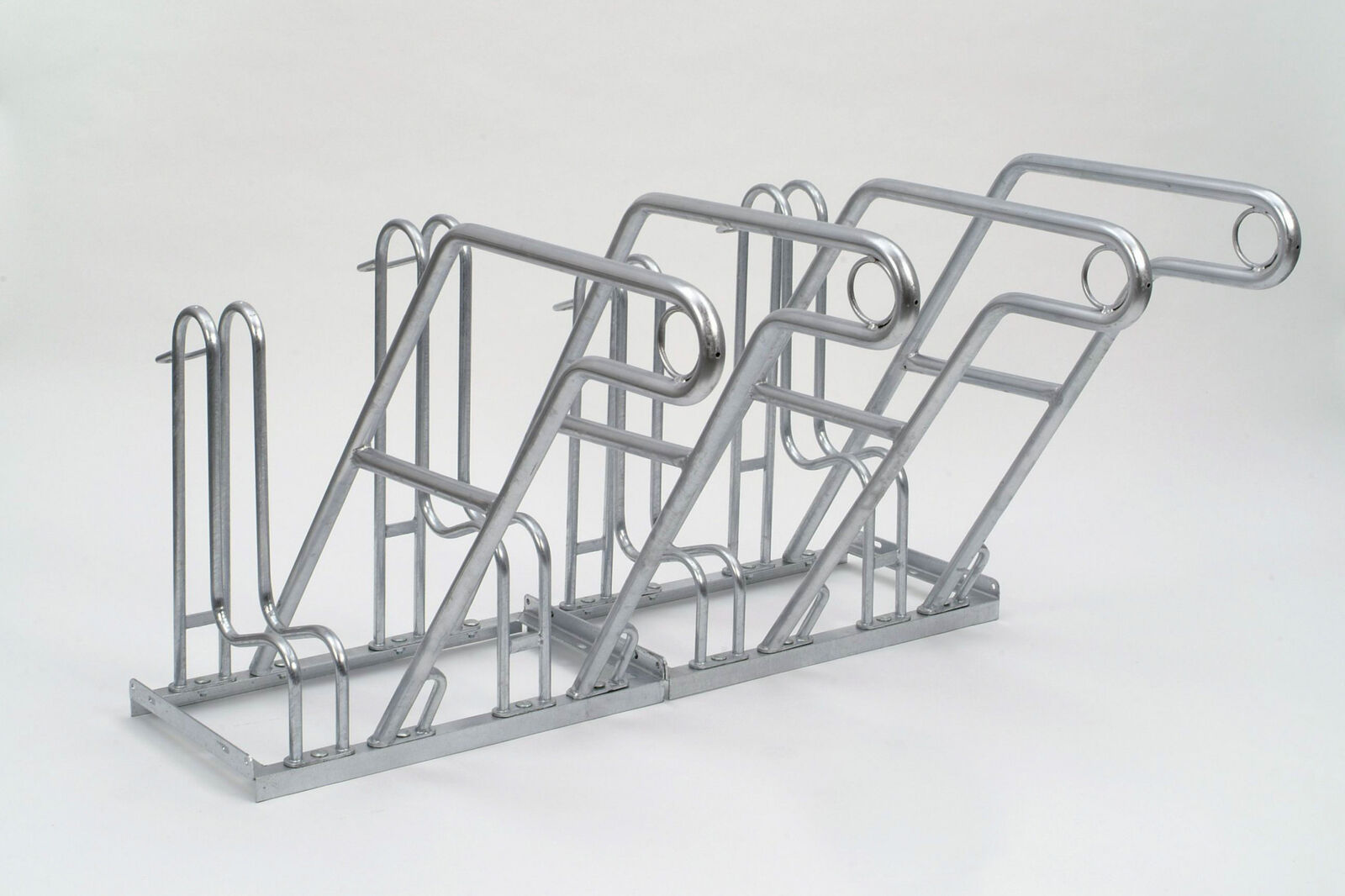 Fahrrad Anlehnsystem 4606 2100mm   Fahrradständer   für Außen   6 Plätze