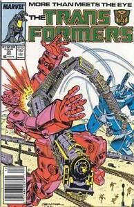 TRANSFORMERS #35 VERY FINE 1st SERIES 1984 NEAR MINT MARVEL COMICS