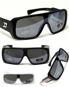 Men-Sport-Fashion-Eyewear-Turbo-Flat-Top-Shield-Style-Dextreme-Sunglasses