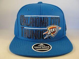 Image is loading Oklahoma-City-Thunder-NBA-Adidas-Snapback-Hat-Cap d9c47fe2d9c5