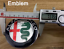 2x-Alfa-Romeo-aluminio-Front-Heck-scudetto-caracteres-emblema-parrilla-delantera-atras miniatura 1