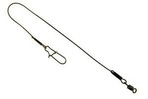 Stahlvorfach G.T.R Leader 7 X 7 Tragkraft 30 kg Duo Lock Hecht Spinnfischen