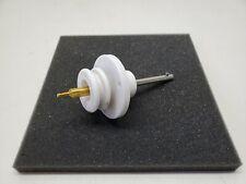 3 Bolt High Vacuum Single Pin High Voltage Ceramic Electrical Feedthrough Flange