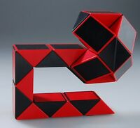 Us Snake 15 Inch Magic Ruler Twist Puzzle Red/black Shengshou Brand