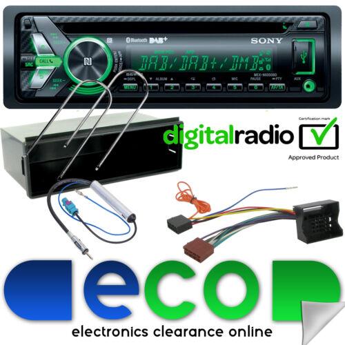 Peugeot 207CC 06-12 DAB Sony Bluetooth CD MP3 USB Automóvil Estéreo Kit De Montaje /& Facia
