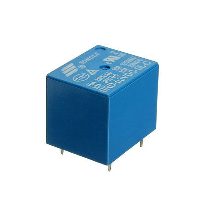 2PCS Mini 3V DC Power Relay Delay SRD-3VDC-SL-C PCB Type General Use