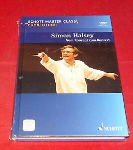 Chorleitung - Simon Halsey - Vom Konzept zum Konzert - Buch mit 2 DVDs