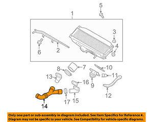 subaru oem 04 08 forester turbo turbocharger intercooler lower duct Subaru Turbo Intercooler Diagram image is loading subaru oem 04 08 forester turbo turbocharger intercooler
