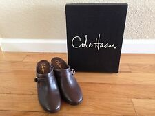 COLE HAAN AIR SHELLY CLOG Women 9 B Brown Wedge Shoes New with box!  Nike Air
