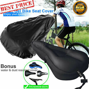 Bicycle Bike Seat Cushion Saddle Cushion/&Water and Dust Resistant Cover Soft Gel