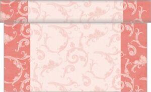 1-Tischlaeufer-Romantic-in-Rosa-aus-Linclass-Airlaid-40-cm-x-4-80-m-Tischband
