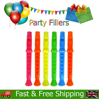 Whistle Pull Birthday Party Loot Bag Childrens Toys Kids Stocking Fillers