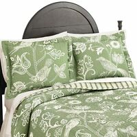 Paisley Birds And Floral Print Pillow Sham, By Collections Etc