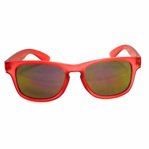 KIDS Boys Girl Baby Oversized Reflective Lens Cute Fashion Shades Sunglasses NEW