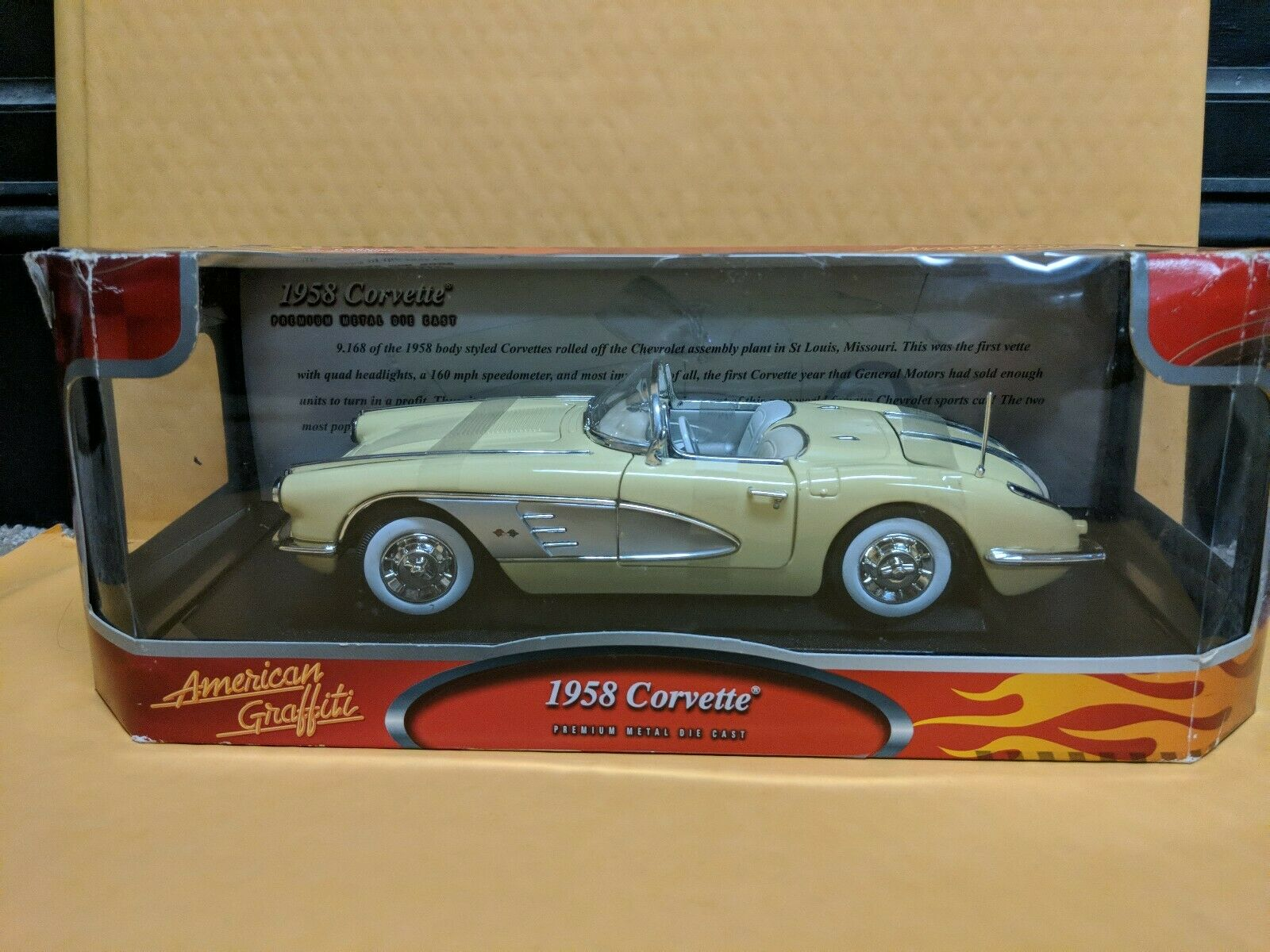 American graffiti 1 18 1958 Corvette