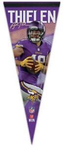 fbaef3418 Image is loading ADAM-THIELEN-Minnesota-Vikings-Football-NFL-Premium-Felt-