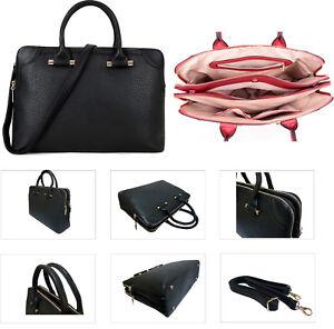 Ladies Laptop Bag Black Work Bag Large Handbag Shoulder Tote ... 7899d9086