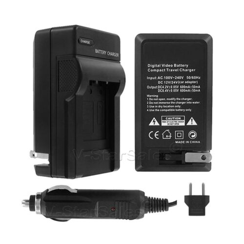 AC/DC Battery Charger for JVC BN-VG107  BN-VG107U  BN-VG107US