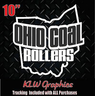 Missouri Coal Rollers Vinyl decal Sticker Diesel Truck Crew Cab 2500 3500 Dura