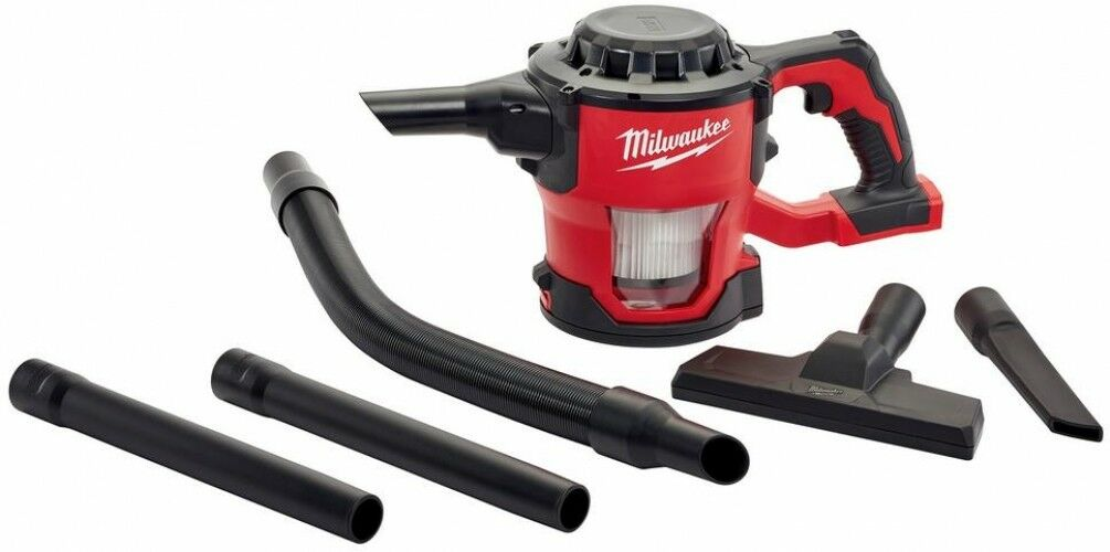 Milwaukee Cordless Compact Vacuum M18 18-Volt Lithium-Ion Vac Clean (Tool-Only)