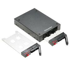 2.5'' HDD SSD 2 Bays Mobile Rack Backplane Hot-swap 6Gbps fr Drive Bay H8Z3