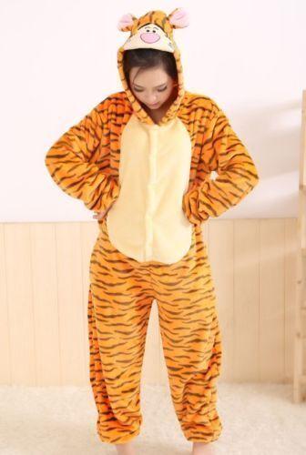 Tiger pajamas adult childrenPeriod Costume /> Fancy Dress /> Unisex Fancy Dress
