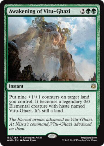 Foil X1 MTG NM Awakening of Vitu-Ghazi War of the Spark *CCGHouse* Magic