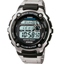 Casio WV200DA-1AV, Digital Atomic Waveceptor Watch, Chronograph, 200 Meter WR