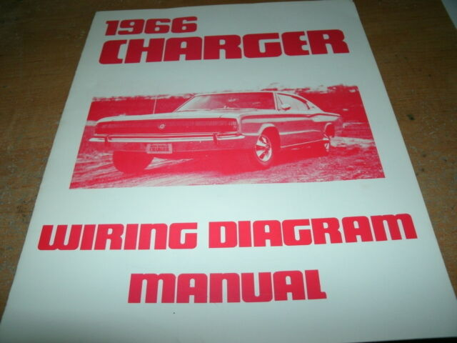1966 Dodge Charger Wiring Diagram Manual
