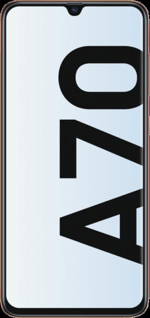 Samsung Galaxy A70 Dual SIM A705F 128GB Coral NEU OVP