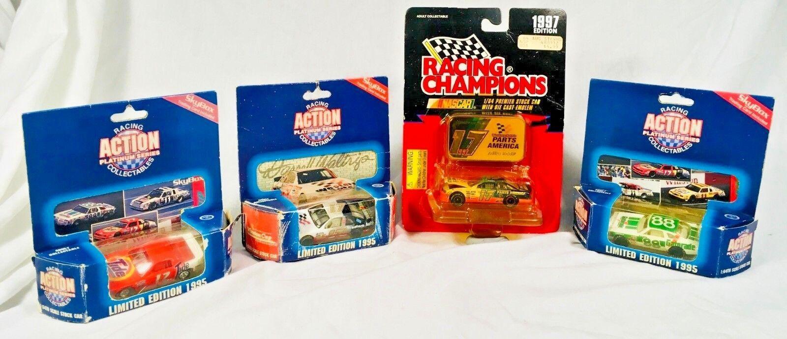 VTG LOT 4 Darrell Waltrip 1 64 Action + Platinum Series 1995   1997Limited