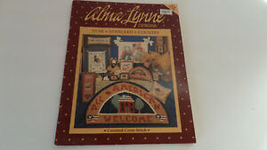 Alma Lynne Designs for Counted Cross Stitch  - Star- Spangled Country - Vintage