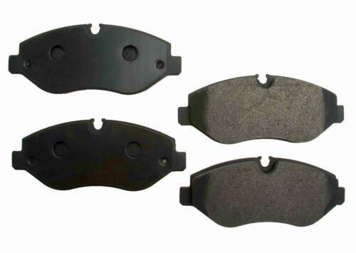 2 FRONT Disc Rotor Brake Pad Kit For 2500 Sprinter Dodge Freightliner Mercedes