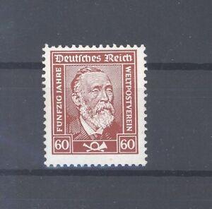 Dt-Reich-Mi-Nr-362y-60-Pfg-Stephan-1924-mit-y-Papier-32766
